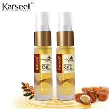 2 bottle Morocco Argan Oil Scalp Frizzy Dry Hair keratin Repair Treatment hair care keratin hair straightening Moist smooth hair(China)