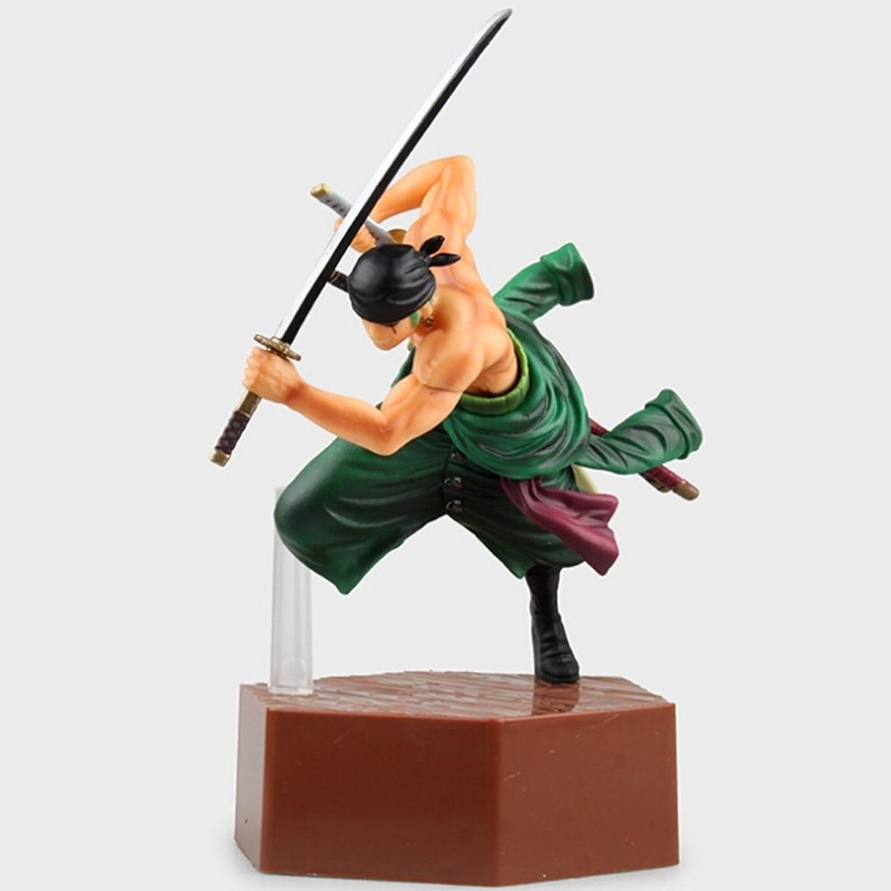 Japan Anime Toys One Piece Roronoa Zoro Action Figure 20cm A106