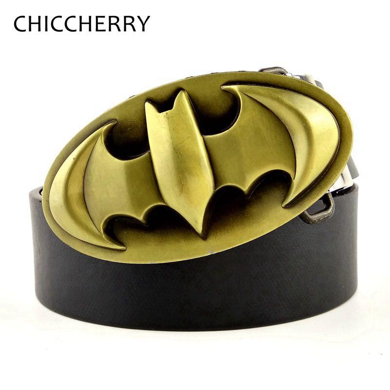 f145dd73e3df En Laiton massif Hebilla Batman Cinturon Hombre Ceinture Boucle En Métal 3D  Hommes Accessoires Cadeau Cool Ceintures Boucles Pour Hommes Fivelas Cowboy