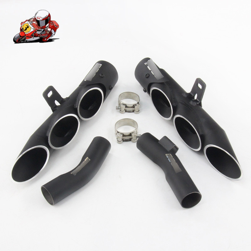 Motorcycle Full Exhaust System Slip on For Kawasaki Z1000 2010-2016 Year Muffler Pipe