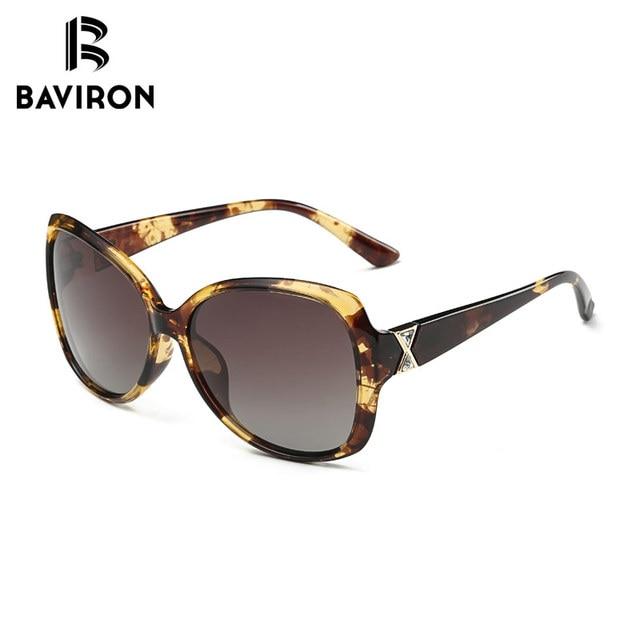 BAVIRON City Eye Tortoise Sunglasses Women Polarized Lenses Glasses Retro Sunglasses Style Gradient Colors Rays UV400 Oculos 8