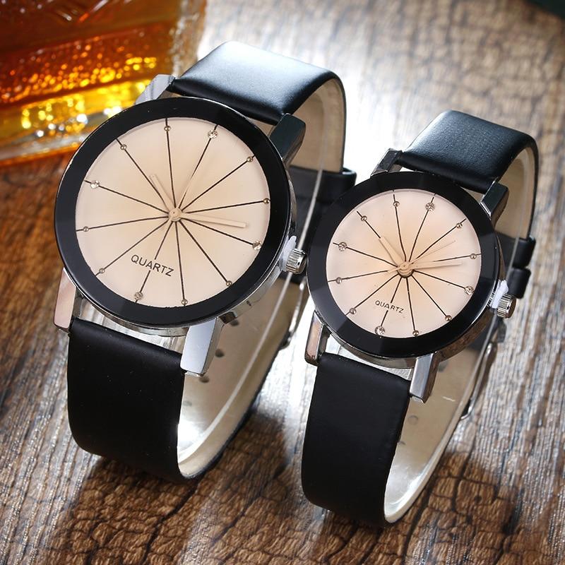 Mujskie Zhenskiye Chasy 2018 Hot Sale Casual Quartz Leather Couple Watches   Relogio Masculino  Relogio Feminino
