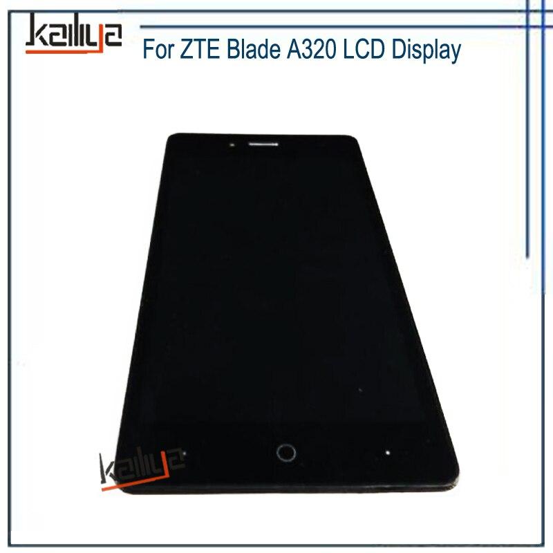 Affichage à cristaux liquides pour le remplacement d'assemblée de numériseur d'écran tactile de la lame A320 de ZTE pour l'affichage d'affichage à cristaux liquides de la lame A320 de ZTE
