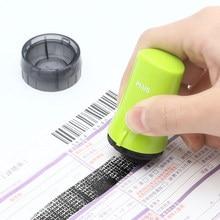 Лидер продаж защиты конфиденциальности Расширенный конфиденциальной Ролик Штамп для глянцевая бумага Код безопасности самостоятельно штемпеля мини марки