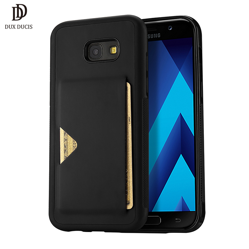 pu leather case for samsung galaxy a5 2017 card holder wallet back cover for samsung a5 2017