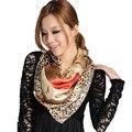 [LESIDA] 2016High Quality Sexy Printed Leopard Scarf Echarpe Bandana  Silk Summer Scarf  Foulard Femme Hijab DF9069
