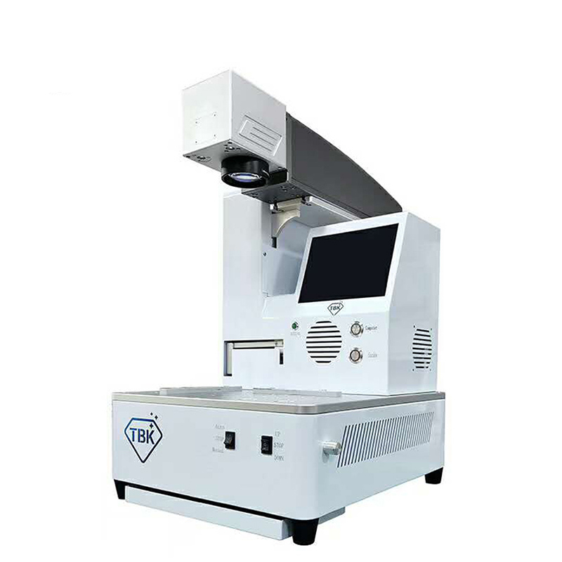 TBK Fully automatic LCD Laser Repair Machine LCD Back Cover Glass Frame Separating Laser engraving machine Built in Computer