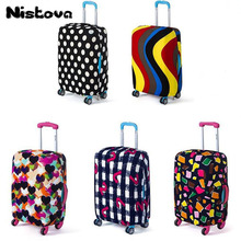 High Quality Fashion Travel Elasticity Luggage Protective Cover Trolley Case Travel Luggage Dust Cover for 18 to 28inch