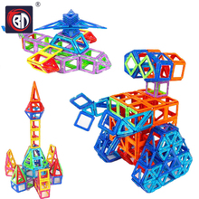 Mini Magnetic Blocks Magnetic Designer Construction Blocks 3D Model Building Bricks Children Educational Toys DIY Car Kids Gifts цена 2017