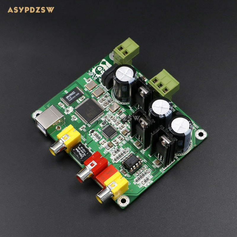 Flagship version CM6631A AKM4490 USB Interface DAC finished board USB Input Analog signal DAC Sampling 32bit