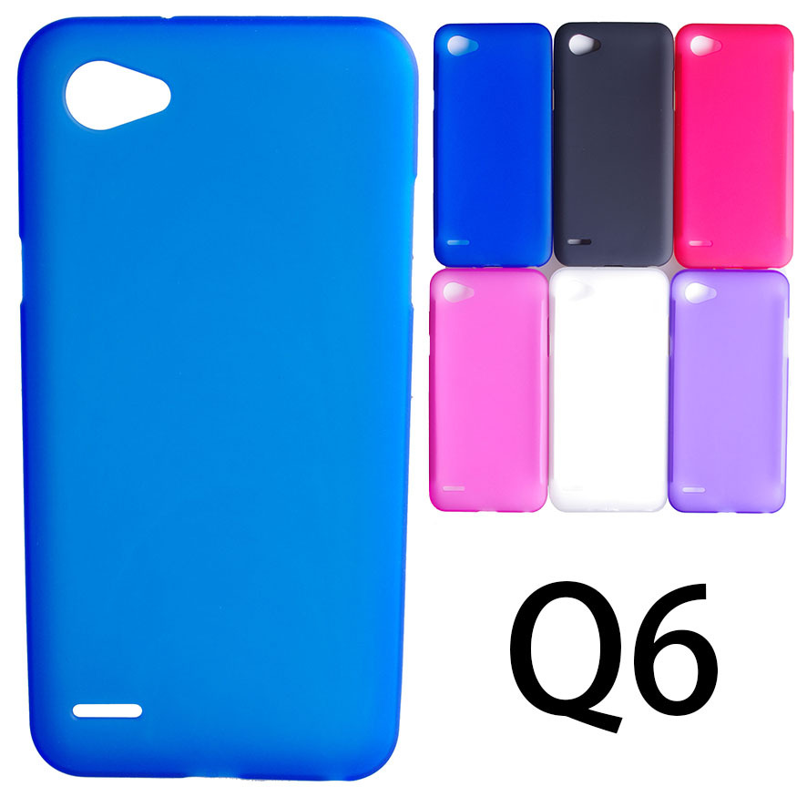 Free Shipping VOONGSON Matte Soft TPU Gel Case For LG Q6 Case Dual SIM For LG Q6 Cover Mobile Phone Cases Q 6