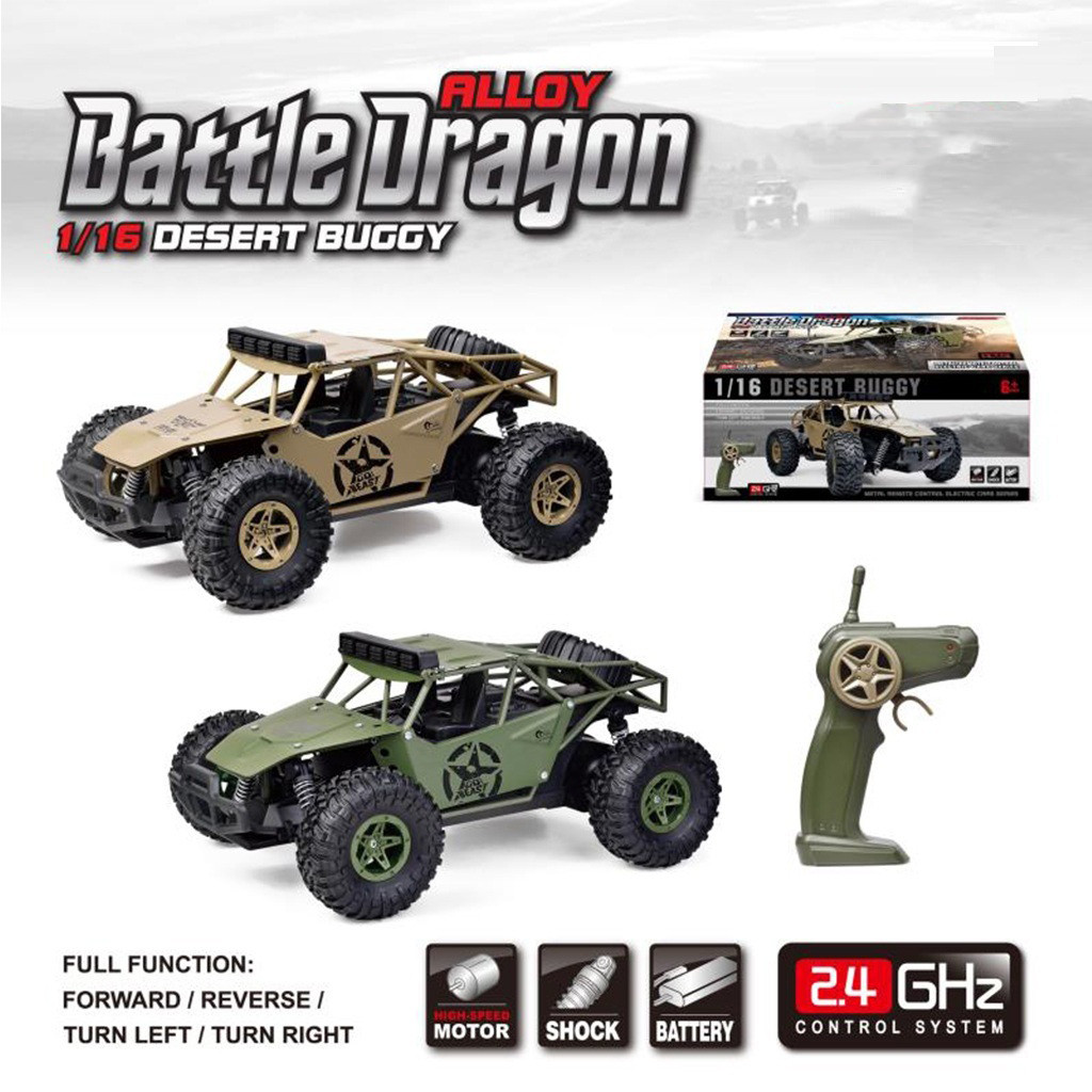 2019 Remote control car toy BG1527 2.4G 1/16 4WD Military Truck Off road Climbing Alloy RC Car RTR Remote control car toy-in RC Cars from Toys & Hobbies