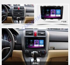 Image 3 - 2din 안 드 로이드 8.1 자동차 DVD 멀티미디어 플레이어 혼다 CRV CR V 3 2006 2007 2008 2009 2010 2011 WiFi 스테레오 navi GPS BT 1024*600