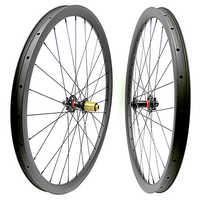 Envío Gratis carbono mtb disco ruedas 29er mtb juego de ruedas mtb bicicleta 35x25mm tubeless montaña bicicleta boost 110x15 148x12 ruedas mtb