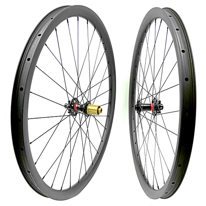 O envio gratuito de rodas de disco de carbono mtb 29er mtb rodado bicicleta mtb 35x25 milímetros tubeless Montanha bicicleta impulso 110x15 148x12 rodas mtb