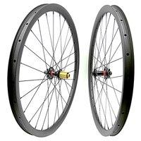 free shipping carbon mtb disc wheels 29er mtb wheelset mtb bike 35x25mm tubeless Mountain bicycle boost 110x15 148x12 mtb wheels