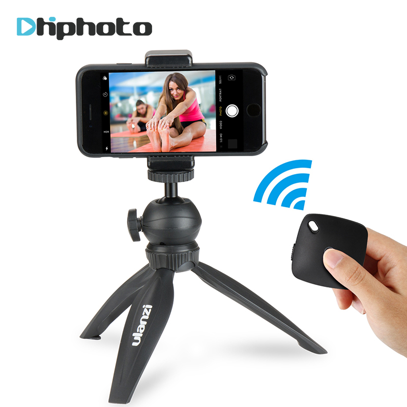 Ulanzi Mini Tripod for Phone,Travel Tripod with Detachable Ballhead for iPhone Samsung Canon Nikon GoPro 6 Smooth Q Smooth 4 DJI