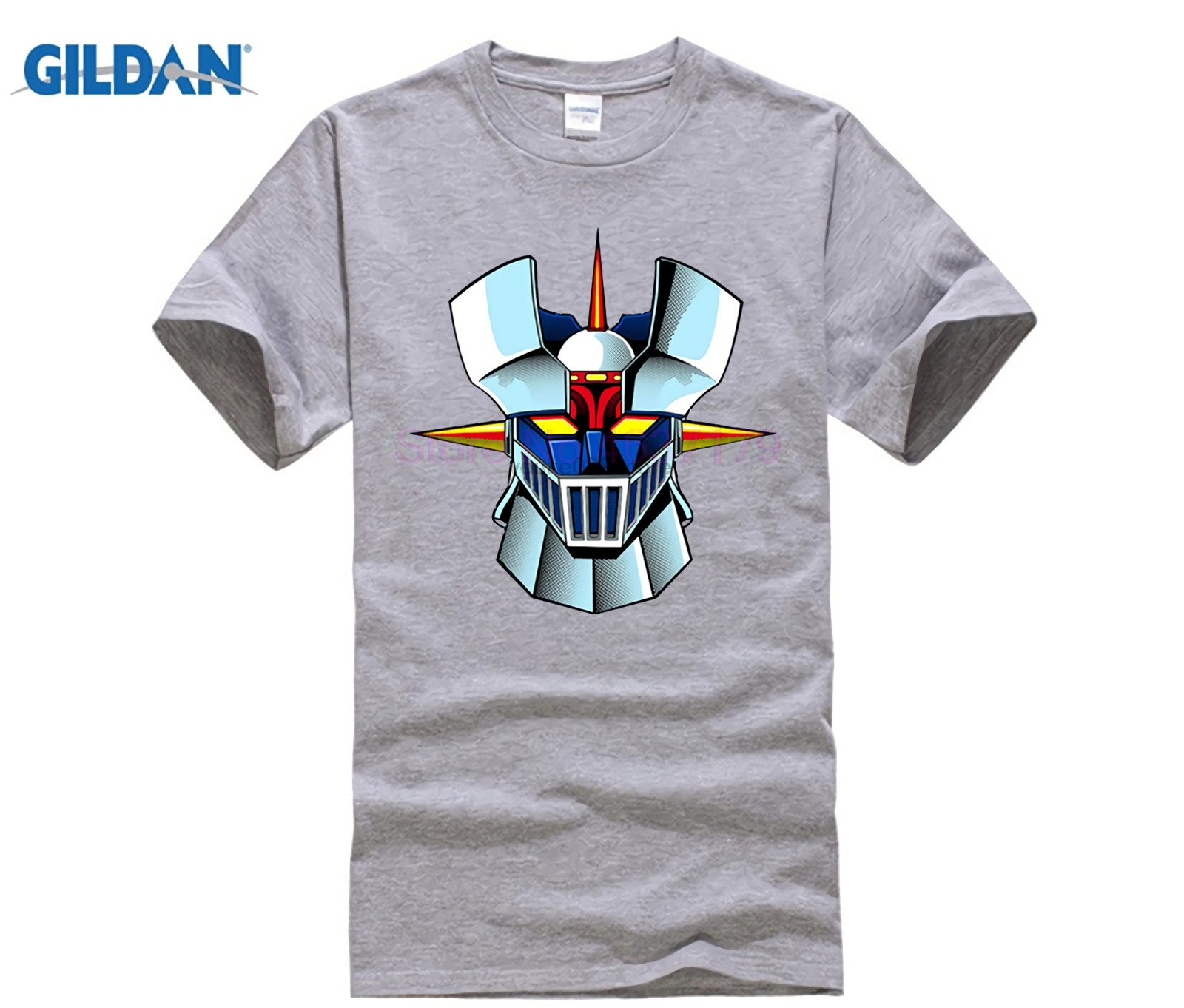 Interesting <font><b>Mazinger</b></font> <font><b>Z</b></font> <font><b>T</b></font> <font><b>shirts</b></font> men Anime old classic manga robot movie <font><b>T</b></font>-<font><b>Shirt</b></font> Black Basic Tees <font><b>shirt</b></font> for boys 2017 fashion new image