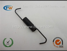 Manufacture Custom extension spring with hook black extension spring tension spring
