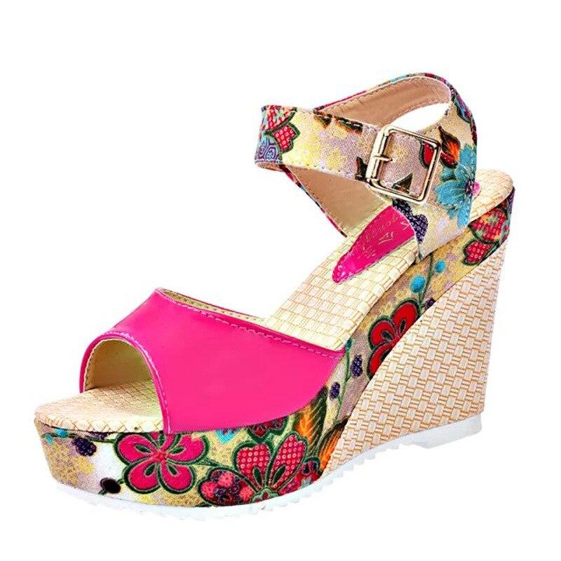 Women Shoes Fashion Women's sandals Wedges Sandals Gladiator Summer Platform Shoes Ladies Casual Beach Shoes women sandals 2017 summer style shoes woman wedges height increasing fashion star gladiator platform female ladies shoes casual