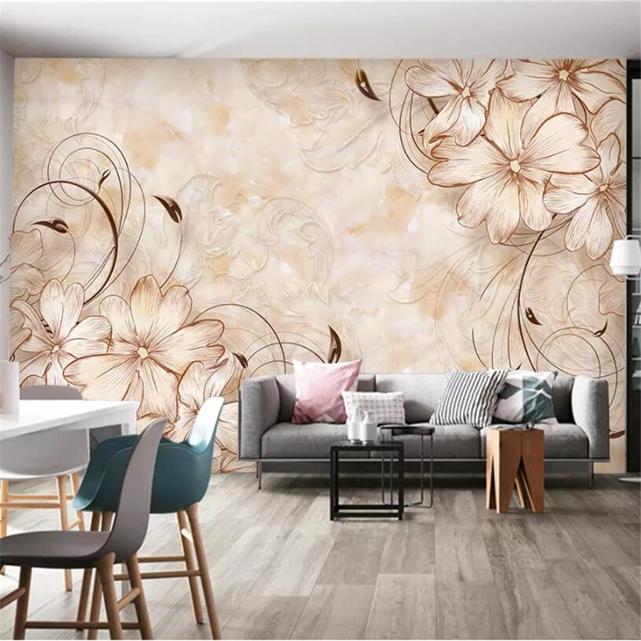 Painting Supplies & Wall Treatments Beibehang Papel De Parede 3d Green Straw European Wallpaper For Living Room Wall Paper Roll Bedroom Sofa Tv Backgroumd Bedroom Clear And Distinctive Wallpapers