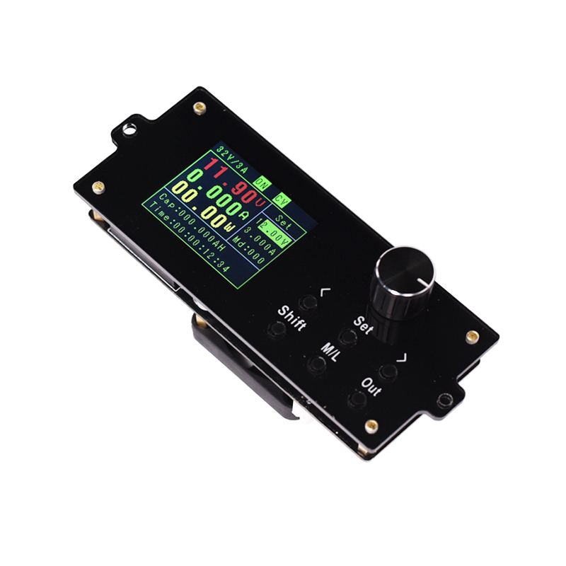 Qualified Constant Voltage Current Dc- Dc Step-down Power Supply Buck Voltage Converter Lcd Voltmeter Coulomb Counter Adjustable 0-32v 3a Pleasant In After-Taste