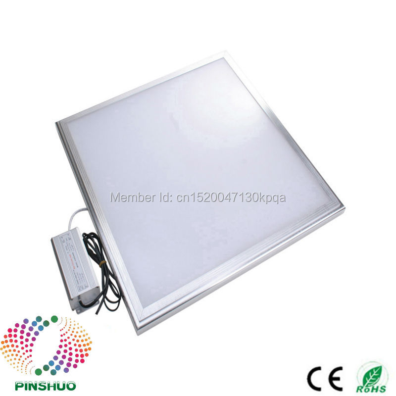 (8PCS / Lot) Garantija 3 gadi Super Spilgts Samsung Chip 48W 60x60cm 600x600 LED paneļa apgaismojums 600 * 600 600x600mm Down LED Downlight