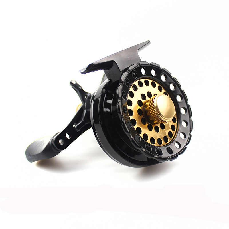 Bobine de pêche à la mouche de qualité YUYU bobine de glace d'eau salée Ratio 2.6: 1 ligne de poisson roulements en métal 6 + 1BB bobine de radeau Baitcasting