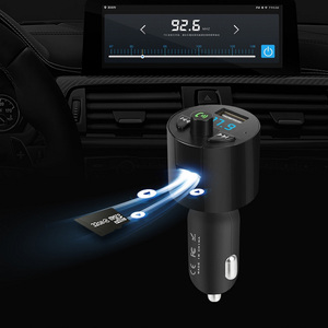 Image 2 - Car Charger Bluetooth MP3 Music Player Support TF Card U Disk MP3 WAV WMA FLAC APE CVC Noise Suppression Auto FM Transmitter