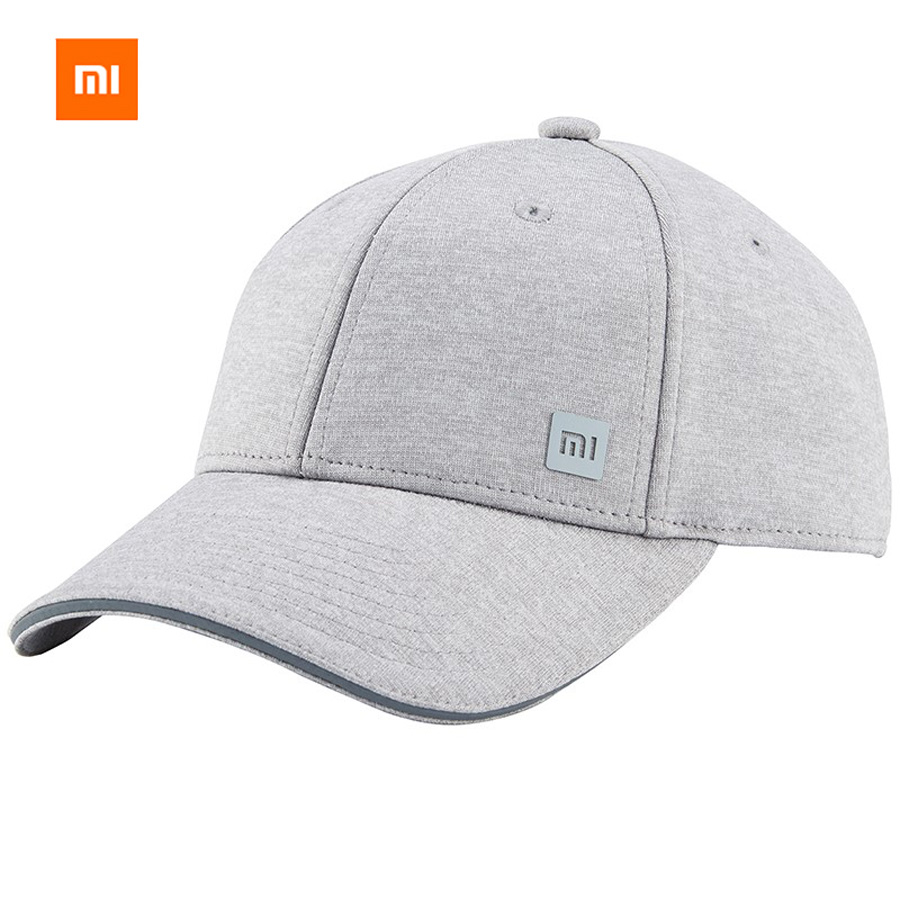 Original Xiaomi 3 Colors Baseball Cap Unisex Popular Design Sweat Absorption Reflective Snapback Fashion Hip Hop For Men Women [boapt] letter embroidery cotton women hat snapback male caps for men casual hip hop hats summer retro unisex brand baseball cap
