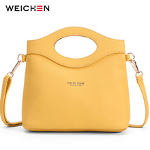 WEICHEN New Design Women Bag Fashion Handbag Shoulder Crossbody Messenger Bags Woman Sac Bolsa Bolsos Tote Purse Ladies hand bag vsen canvas crossbody shoulder hand tote women bag messenger bags ladies handbags bolsa feminina bolsas bolsos