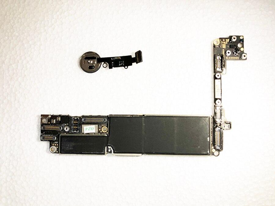 Oudini DÉBLOQUÉ pour iphone7 32 gb Carte Mère ont D'empreintes Digitales, Débloqué D'origine pour iphone 7 Carte Mère avec Touch ID travail