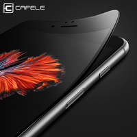 CAFELE 3D Soft Edge Full Cover Screen Protectors For Iphone 6 6s Seamless Covering Tempered Glass