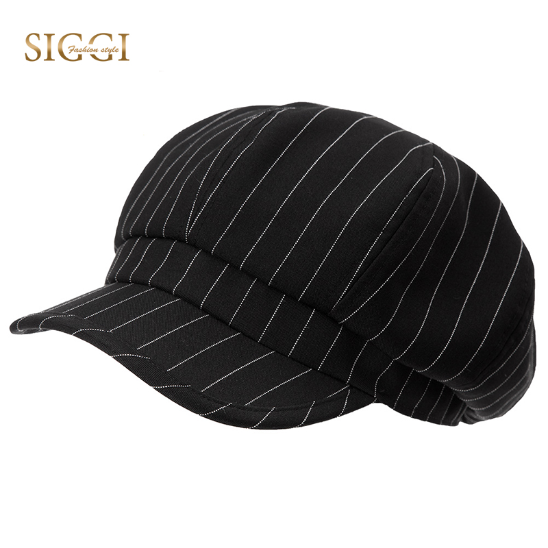 technologies sophistiquées pourtant pas vulgaire nouvelle version SIGGI Women newsboy hat visor beret summer cap for girls spring painter  gavroche vintage fashion 89046