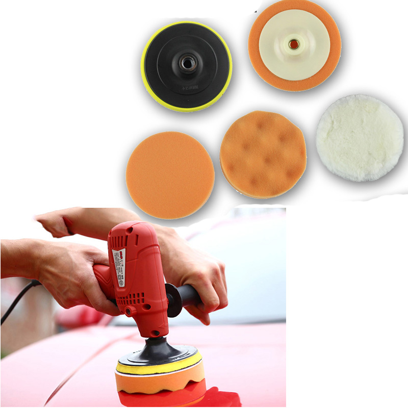 4inch Car Polisher Sponge Wax Polish Pad Tools For Audi A3 A4 B8 B6 A6 C6 A5 B7 Q5 C5 8P Q7 TT C7 8V A1 Q3 S3 A7 B9 8L A8 80