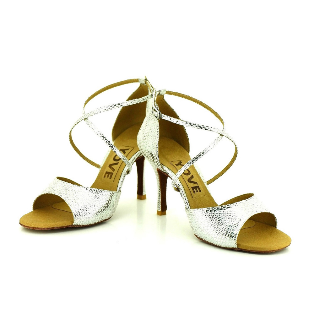 YOVE Dance font b Shoe b font Women s Latin font b Salsa b font Dance