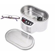 Мини Ультразвуковой очиститель ванн для чистки ювелирных изделий очки печатных плат интеллигентая(ый) Управление Вт, 30 Вт, 50 Вт