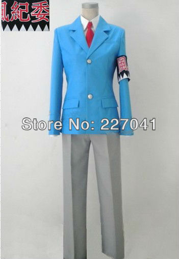 New Hakuouki Saitou Hajime SSL anime costume cosplay Free Shipping