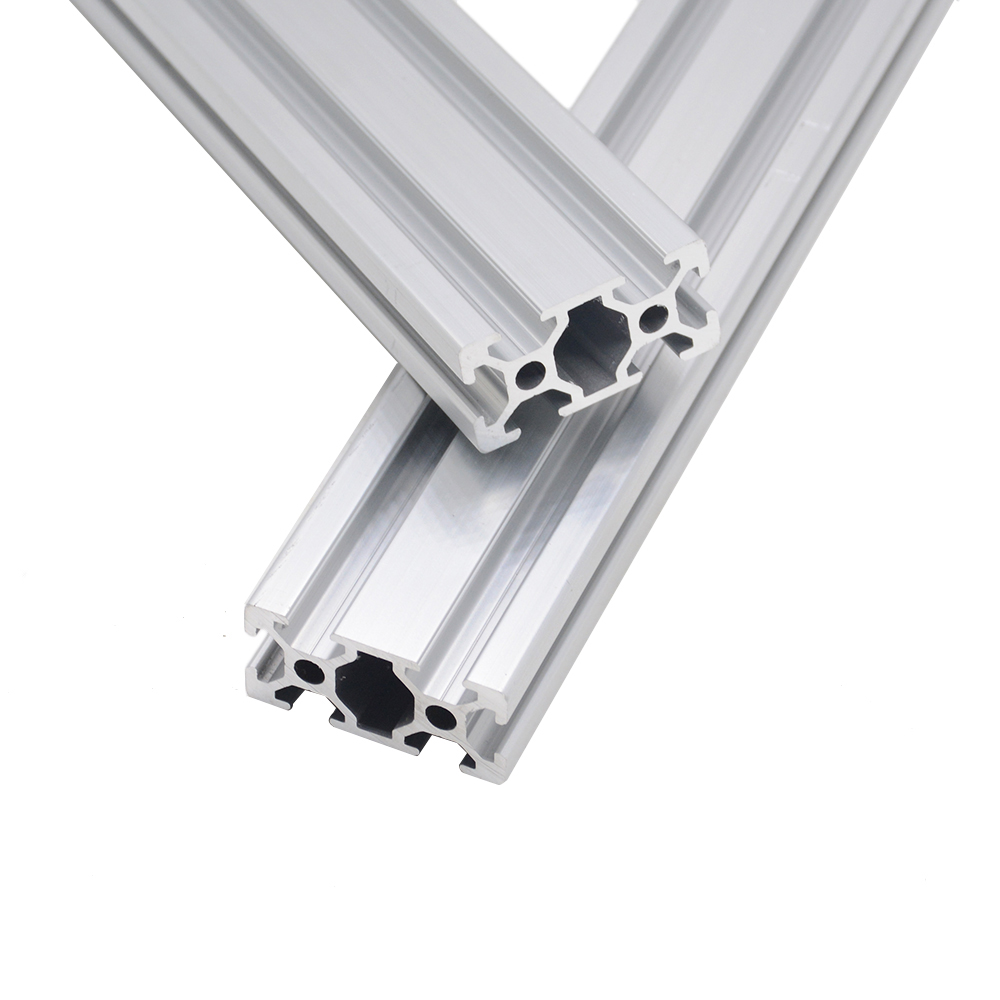 4pcs/lot 2040 Aluminum Profile European Standard Anodized  Linear Rail Aluminum Profile 2040 Extrusion 2040 CNC 3D Printer Parts