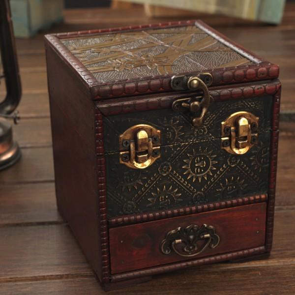 Antique Box Europe Type Restoring Ancient Ways of Creative