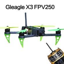 Livraison Gratuite Mondiale Aigle X3 FPV250 Quadcopter RTF Drones Set W/Main Carry Case (9CH RC/CC3D/2206 Moteur Brushless/15A ESC)