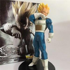 Image 3 - 2Pcs/Set Dragon Ball Z Son Goku Fusion Gogeta Super Saiyan Awakening Gohan Trunks Father PVC Anime Figure DBZ Collection Model