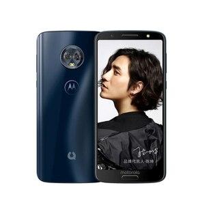 Image 2 - Motorola telefon komórkowy Moto zielony Pomelo 1S XT1925 Snapdragon 450 4GB RAM 64GB ROM 5.7 cal 18:9 IPS odcisk palca 3000mAh telefon komórkowy