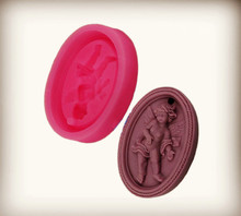 angel baby silicone mold DIY Gypsum Plaster Pendant Making Aromatic Tablet Mold