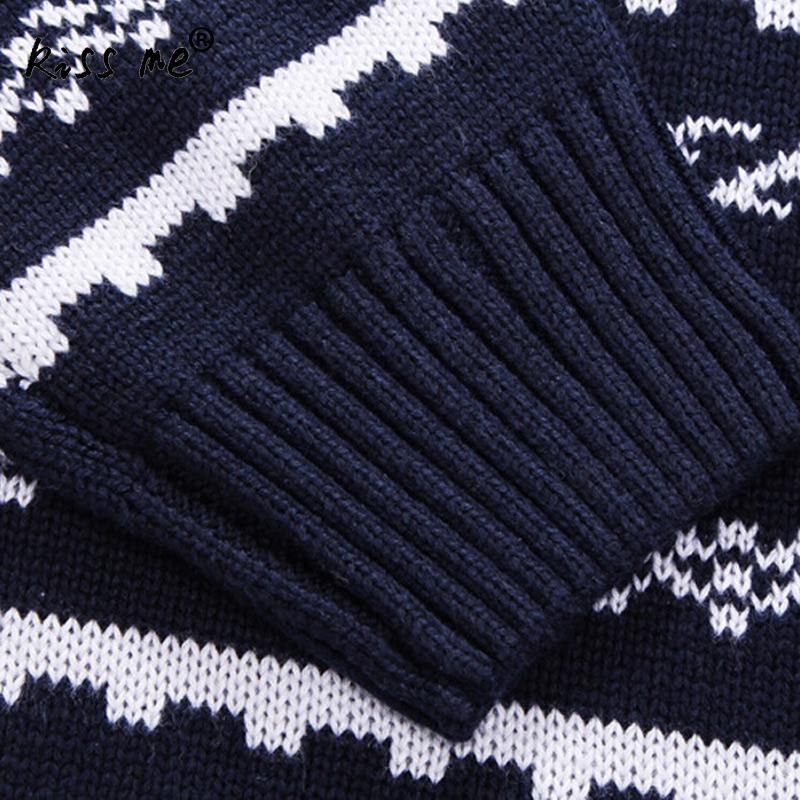 US $27.97  Neue 2017 herren weihnachten pullover wolle pullover männer gestreiften pullover dick gestrickte weihnachten pullover herren in Neue 2017