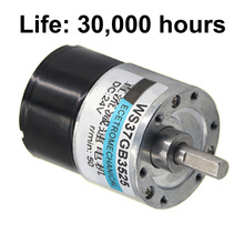 Long Life Brushless DC Gear Motor High Torque 12V 24V Slow Low Speed 5-600RPM BLDC Motors In DC Motor Reversed Adjustable Speed цена в Москве и Питере