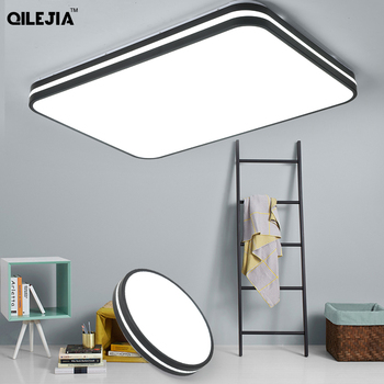 Plafond moderne à LEDs lumières style Simple maison lampe à LED grand art créatif lustre chambre salon lampe AC90-260V