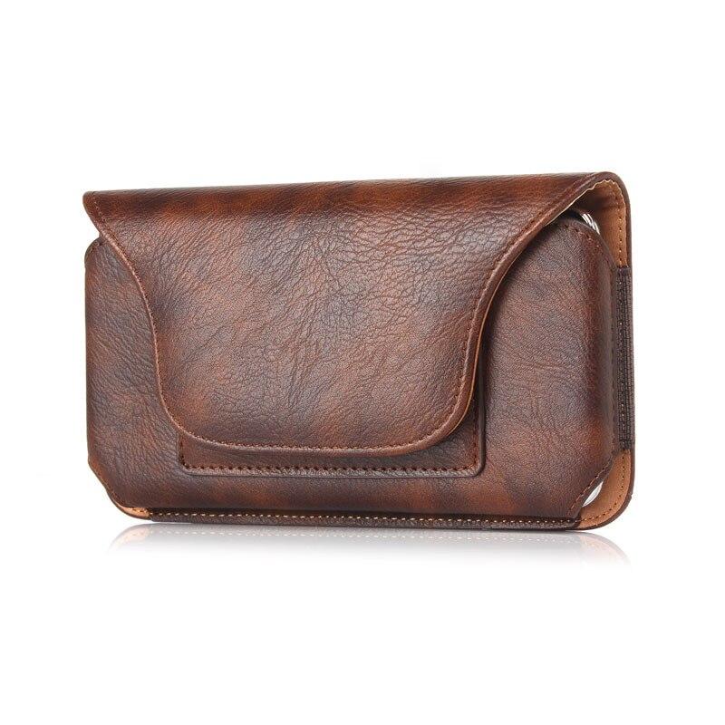 Läderväska Fodral Väska för Samsung Galaxy S10E / S9 / S8 / S7 / - Reservdelar och tillbehör för mobiltelefoner - Foto 3
