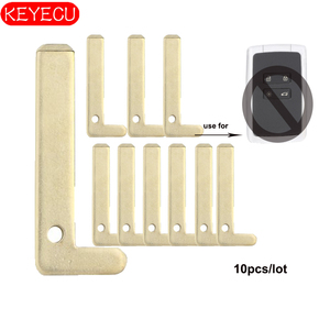 Image 1 - Keyecu 10pcs חכם מרחוק מפתח להב החלפה עבור רנו Espace 5, מגאן 4, קמע