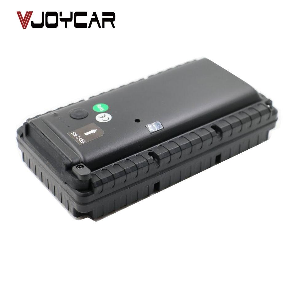 VJOYCAR T15400SE Car GPS Tracker 15400mAh Big Battery Powerful Magnet IPX7 Waterproof design Vibration Sensor SOS Help Button vjoycar tk10sse 10000mah rechargeable removable battery